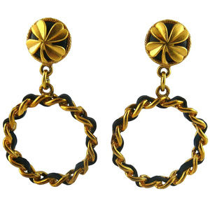 AUTHENT CHANEL EARRINGS